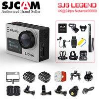 מקורי SJCAM SJ6 מקרא 4 K וידאו Wifi ספורט DV מסך כפול פעילות המצלמה 16MP עמיד למים ג 'יירו 2.0 מסך מגע חיצוני אופני DV