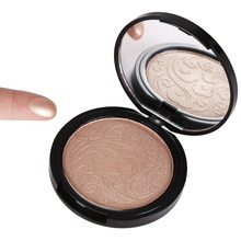 Highlighter bronzers Face Makeup Shimmer Highlighting Powder Creamy Texture Water-proof Silver Shimmer Light Concealer