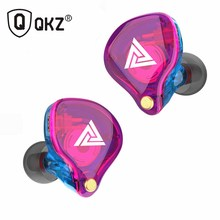 QKZ VK4 ZST Pro Driver Earphone Detachable Cable In Ear Audio Monitors Noise Isolating HiFi Music Sports Earbuds