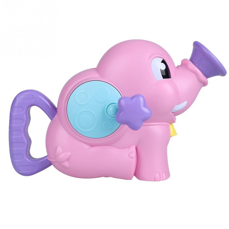 Elephant Water Spraying Tool Baby Shower Toys 2 Colors Children Fancy Beach Toy Bathing Swimming Pool Sprinkler Toys