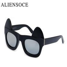 Desmontable gato Gafas de sol mujeres UV Gafas moda colorido reflectante  Películas anti-deslumbramiento Gafas oculos de sol femi. c47e803ec783