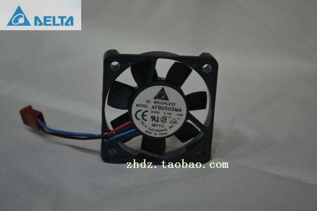 for delta AFB0505MA 5010 5cm <font><b>50mm</b></font> DC <font><b>5V</b></font> 0.18A <font><b>fan</b></font> power supply <font><b>fan</b></font> image