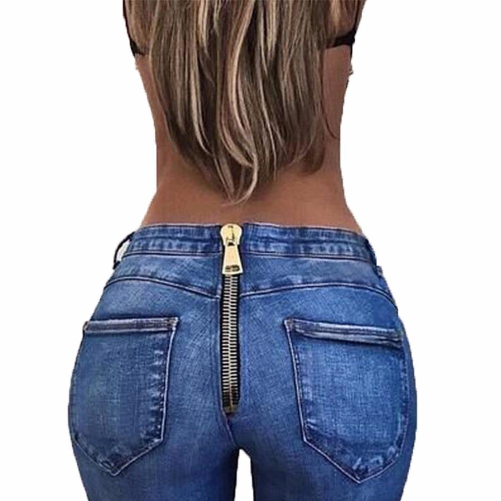 Aliexpress.com : Buy Women Basic Push Up High Waist Skinny