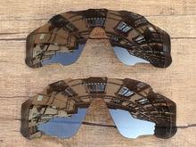 Negro Gris y Negro Iridium 2 Unidades Marco de Gafas de sol Polarizadas  Lentes De Repuesto Para Jawbreaker 100% UVA y Uvb f79d3f4950