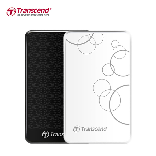 "Transcend StoreJet 25A3 1TB External Hard Drive 2.5"" High Speed USB 3.0 HDD Hard Disk Desktop Laptop Storage Devices HD Disk 1TB"