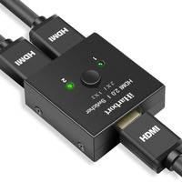 IHarbort 2 Port HDMI 2 0 Switcher Splitter Switch Adapter With Bi Directional 2 In 1