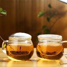 300 мл чайная стеклянная чашка, креативная чайная бутылка для воды с фильтром, ручка с крышкой, высокие боросиликатные стеклянные бутылки, моя стеклянная чашка