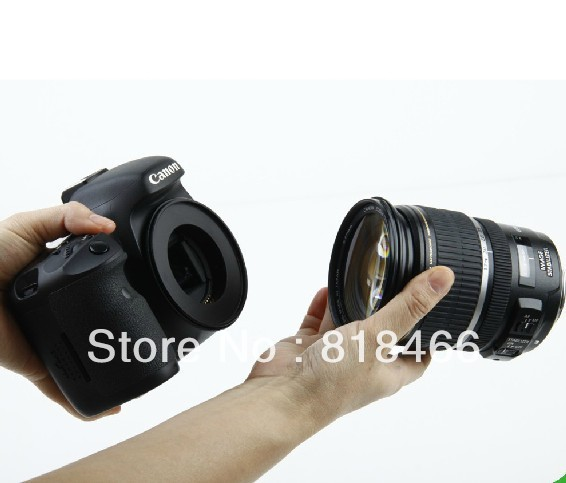 55 MM 55MM Macro Reverse Lens Mount Adapter Ring For Canon EOS EF camera 6D 70D
