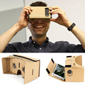 "Private Google Cardboard VR Box Virtual Reality Glasses Headset 3D VR Movie Games for iPhone for Samsung 3.5""~ 5.5"" Smart Phones"