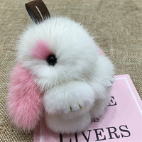 Cute Little Monster Fur Bag Pendant Multicolor Fur Ball Ornaments