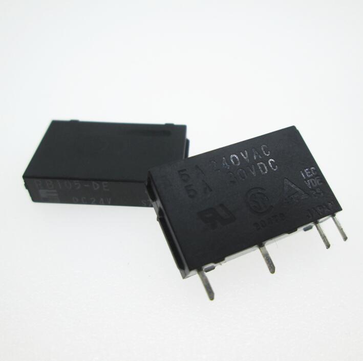 24V relay RB105-DE DC24V RB105-DE-DC24V RB105-DE-24VDC RB105 24VDC DC24V 24V 5A 240VAC 4PIN g5nb 1a e 24vdc g5nb 1a 24vdc