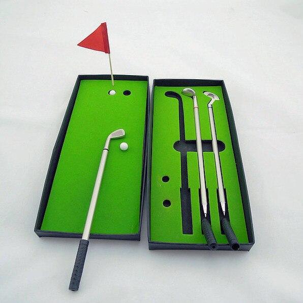 Mini golf model toys for children and adult office desktop antistress gift