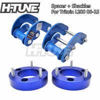 H-TUNE 4x4 Accesorios 25mm Vorne Spacer und Hinten Fesseln Heben Kits 4WD Für Triton L200 MK ML 2006-2014