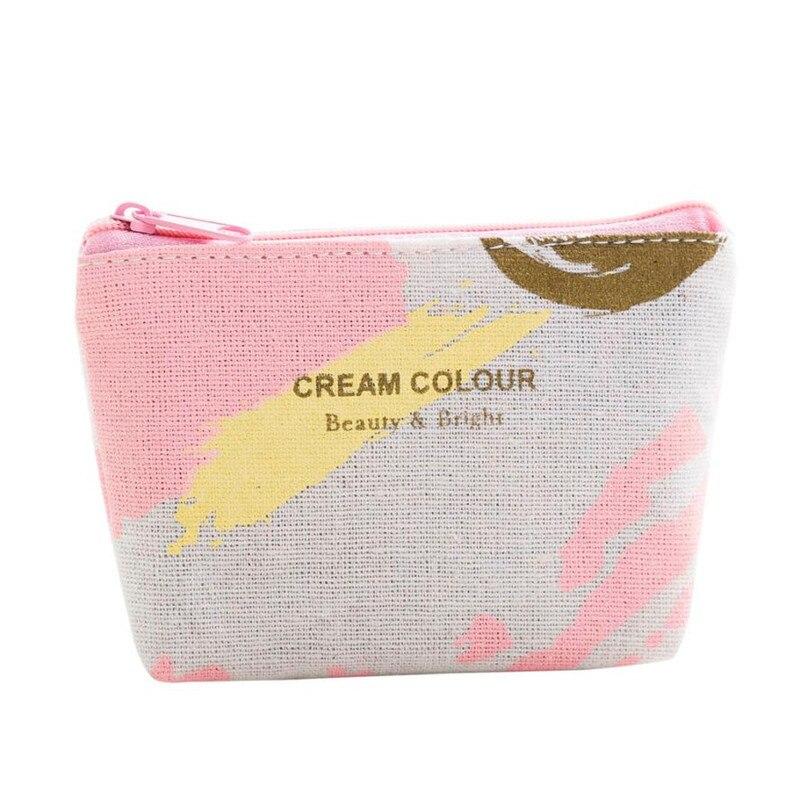New 2017 Girls Cute Fashion Print Snacks Coin Purse Wallet Bag Change Pouch Key Holder children's purse monederos para mujer