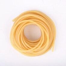 Диаметр 2 мм 3 мм прочная эластичная рыболовная веревка 1 м-5 м рыболовные аксессуары хорошее качество резиновая леска для рыболовных снастей