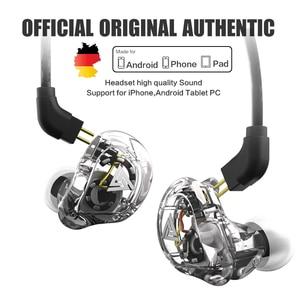 Image 1 - New QKZ VK1 4DD In Ear Earphone HIFI DJ Monito Running Sport Earphones Earplug Headset Earbud ZS10 ZS6 fone de ouvido audifonos