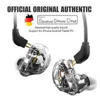 Nuevo auricular QKZ VK1 4DD de alta fidelidad para DJ Monito, Auriculares deportivos para correr, auriculares ZS10 ZS6