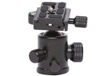 Cabeças de Tripé manbily KF-0 Profissional bola de cabeça Universal com Suporte da placa de Suporte de montagem Rápida para Canon Nikon DSLR camera DV