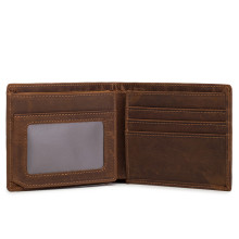 Neweekend Hot Sale Crazy Horse Leather Vintage Retro Wallets Man Men Short Genuine Leather Card Holder Wallet Purse Male 6003 new arrivals short retro crazy horse leather men wallet 2018 top quality genuine leather man s purse hot vintage card wallets