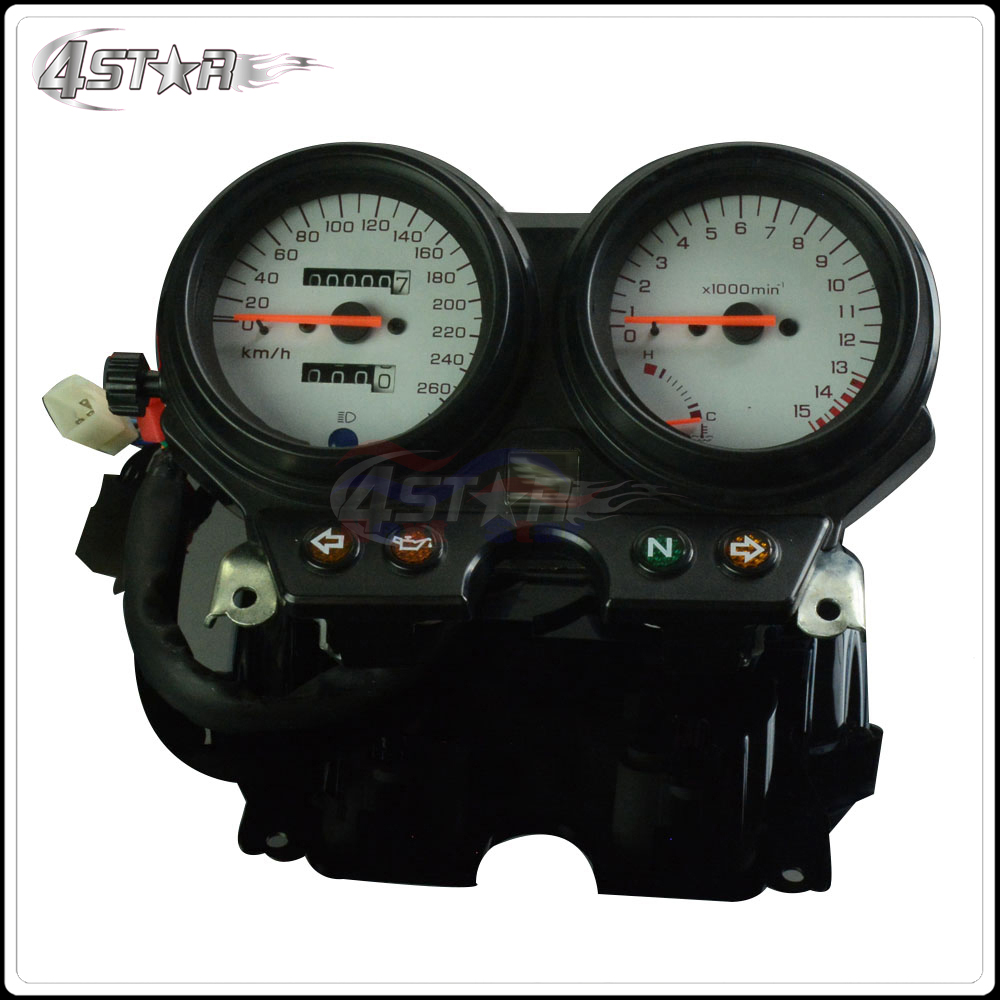 Motorcycle Accessories Speedometer Tachometer Instrument Gauge For <font><b>HONDA</b></font> CB600 <font><b>Hornet</b></font> <font><b>600</b></font> 1996 1997 1998 1999 2000 <font><b>2001</b></font> 2002 image