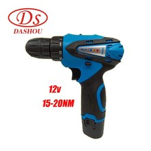 DS DIY Rechargeable Hand Drill Electric Screwdriver 12V/21v Mini Power Tools 50NM  Home
