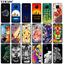 YIMAOC Hakuna Matata Lion King Soft Silicone Phone Case for Huawei Nova 4 3 3i 2i for Huawei Mate 20 10 Pro Lite Cover(China)