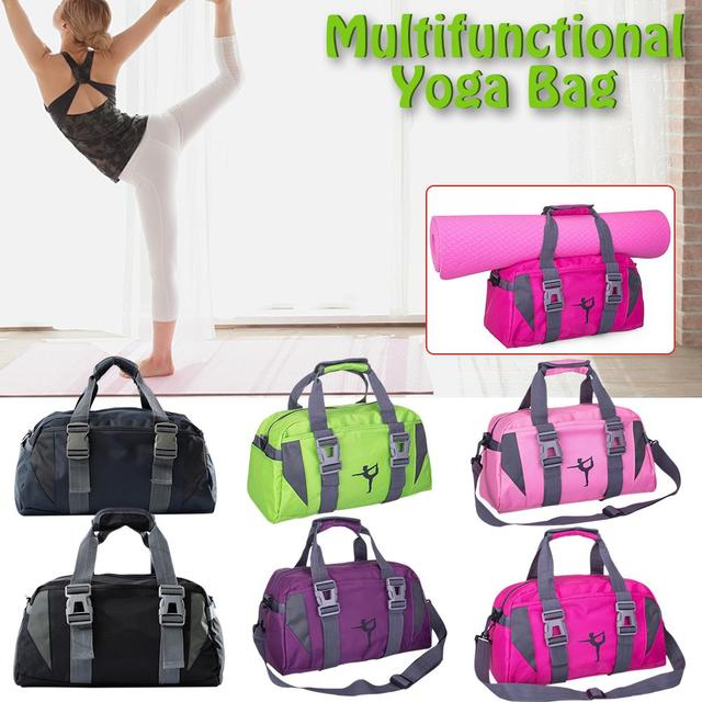 Waterproof nylon yoga bag 2