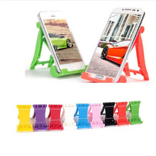 цены 2 pcs/lot New arrival Universal cellphone Foldable table Holder Stand bracket for iPhone for Samsung mobile phone holders stand