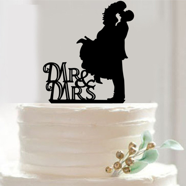 Mr Mrs Wedding Cake Topper Stand Top Decoration Decorations Supplies