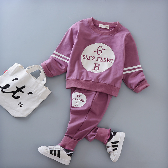 2017 autumn baby boy fashion dress long sleeve blouse + pants 2 sets of sports suit baby clothing suit newborn baby clothing