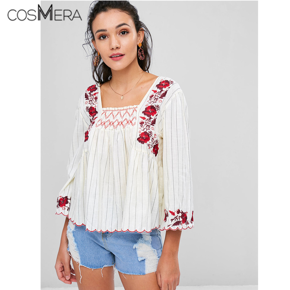 Women Tops Summer 2019 Oriental Blouse Spring Chinese Style Shirt Peasant Womens Tops And Blouses Japanese Streetwear Aa4683 Women's Clothing