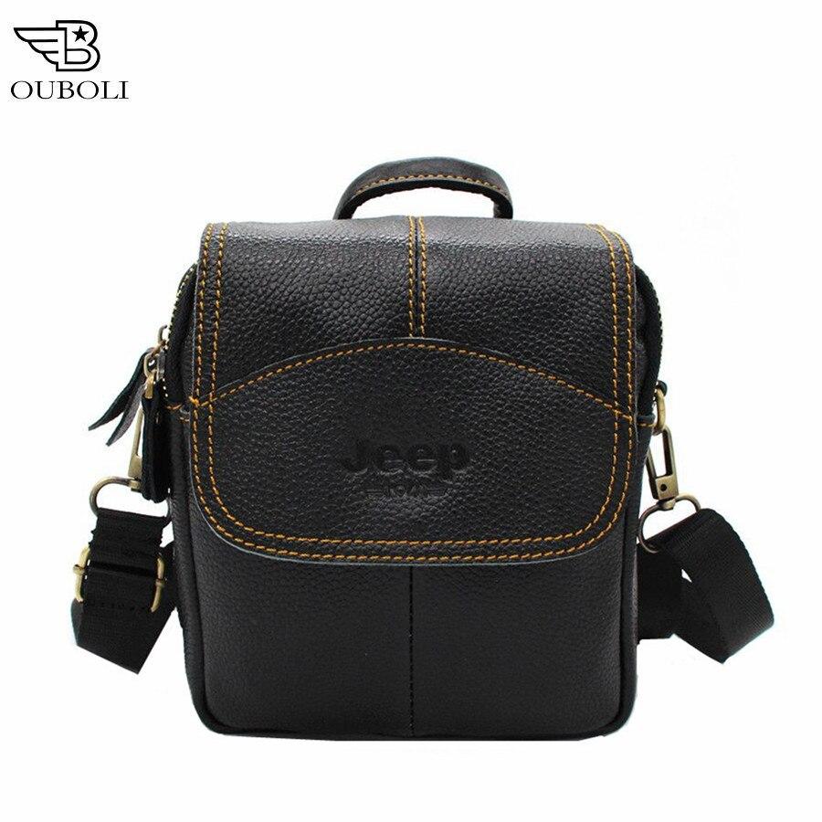 100% Genuine Leather Mens Messenger Bag Business Cowhide Shoulder Crossbody And real cowhide Vintage shoulder bag Handbags