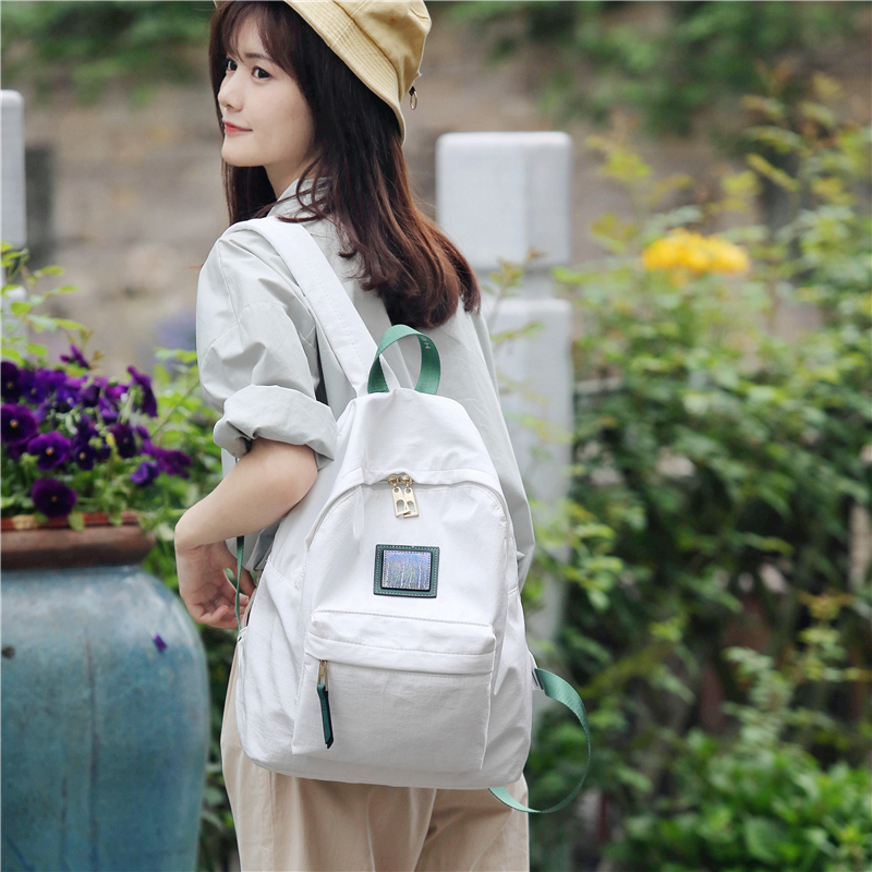 Joypessie Women Backpacks Large Female Travel Backpack Nylon Bag Student Fashion Girl School Casual Fabric Shoulder Bag Backpack