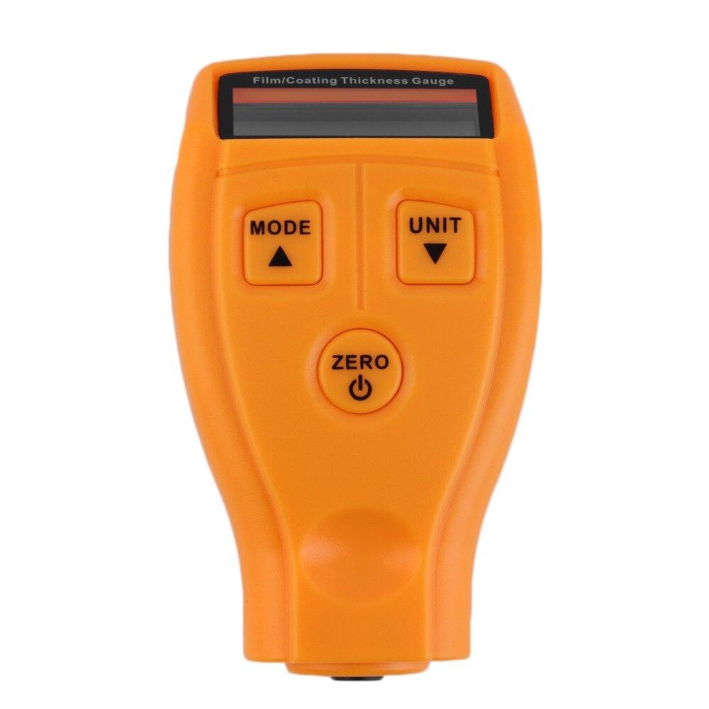 GM200 pintura de recubrimiento medidor de espesor Tester Digital para ultrasónico barniz película de revestimiento para coches medida medidor de pintura