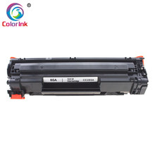 ColorInk CE285A 285A 85A 85 טונר מחסנית עבור HP LaserJet Pro P1102 M1130 M1132 M1210 M1212nf M1214nfh M1217nfw מדפסת שחור