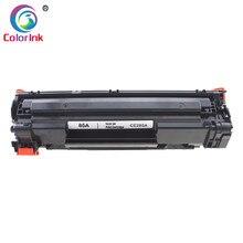 ColorInk cartucho de tóner CE285A 285A 85A 85 para impresora HP LaserJet Pro P1102 M1130 M1132 M1210 M1212nf M1214nfh M1217nfw, color negro