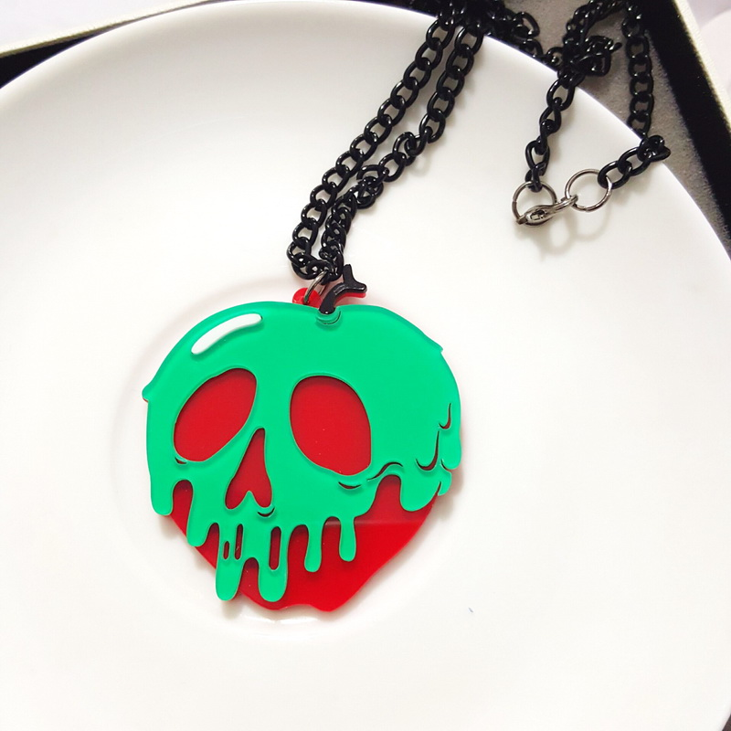 Wholesale cool green apple skeletion acrylic pendant necklace in wholesale cool green apple skeletion acrylic pendant necklace in pendant necklaces from jewelry accessories on aliexpress alibaba group aloadofball Gallery
