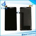 Black display lcd com painel de toque digitador da tela para lenovo s850 acessórios reparação peças de reposição 1 peça frete grátis