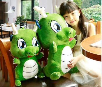 large 55cm cartoon dinosaur plush toy soft doll throw pillow toy Christmas gift b2008