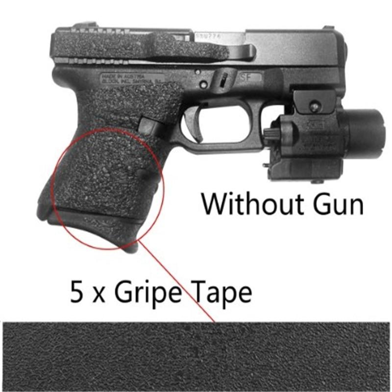 5pcs 1lot Grips Material Sheet Black Textured Rubber Grip