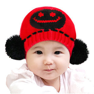 2016 New Brand Fashion Children Winter Hats High Quality Baby Knittes Hat Childrens Acce ...