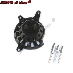 Image 4 - אופנוע מנוע מקרה מחוון כיסוי מגיני ForHONDA CB650F CBR650F CBR650R ימין מנוע מכסה מגיני