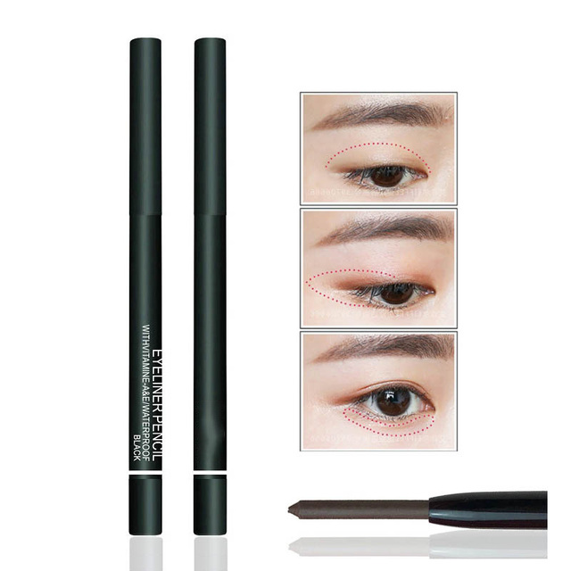 NEW Brand 6 Colors of Women Eyeliner Pencil Makeup Waterproof Eye Liner Pencils Eyes Pen Cosmetics for Young Girls Love Beauty 2