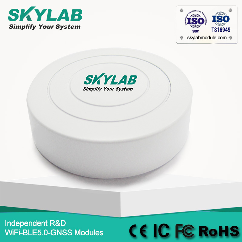 SKYLAB VG01 Bluetooth Beacon on Nrodic nRF51822 with Cr2477 CE RoHS FCC Certificated UUID Programmable BLE Beacon