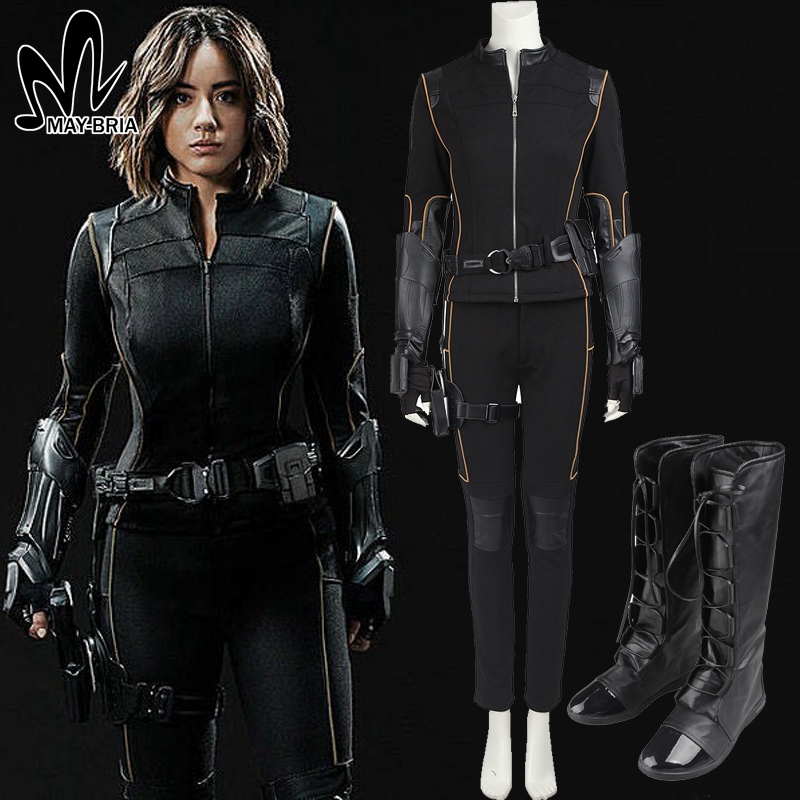 agents of shield Skye Quake cosplay costume Superhero cosplay Christmas Carnival costume for adult women custom made