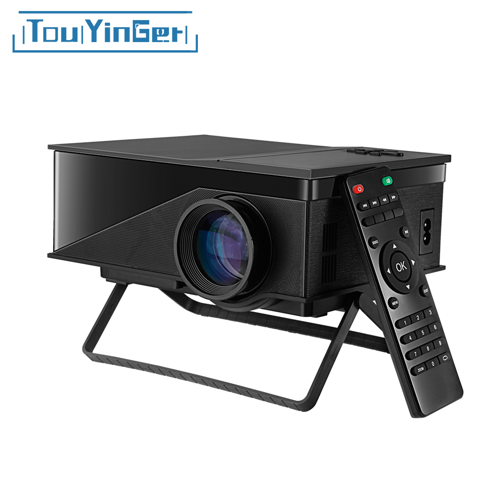 Touyinger Mini Projector Beamer Video Uc40 Portable Digital Home Theater 1080P T1 LCD