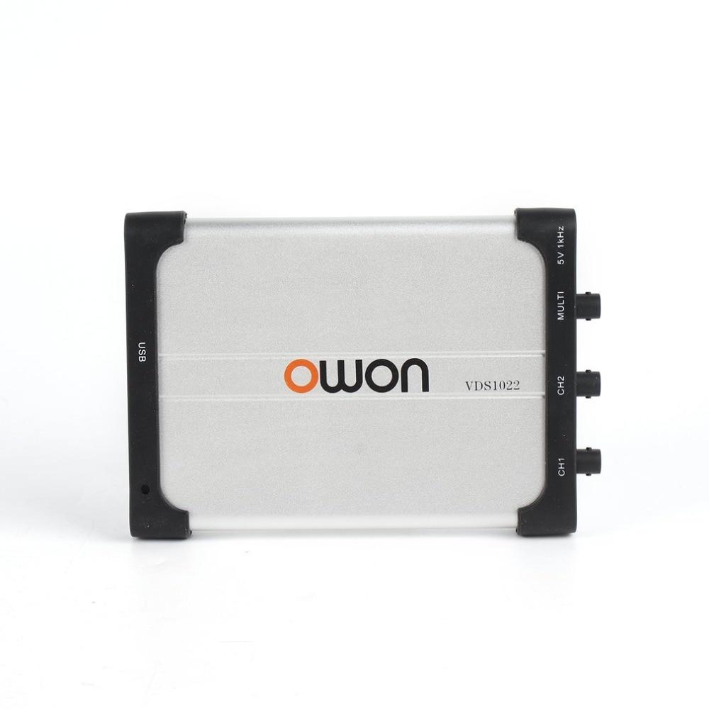 Owon VDS1022 Oscilloscope Portable 25MHz 2+1 Channels Record USB Storage Waveform Generator Multimeter SpectrumOwon VDS1022 Oscilloscope Portable 25MHz 2+1 Channels Record USB Storage Waveform Generator Multimeter Spectrum