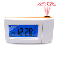Mute Big Screen Electronic Clock Children Perpetual Voices Voice Projection Student Lazy Alarm Clock