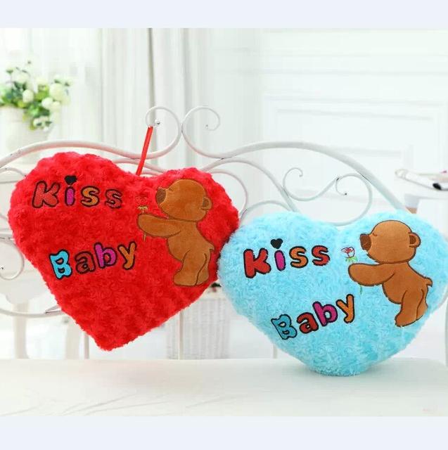 Amor romântico travesseiro brinquedos de pelúcia amor Sharp presente criativo presente de casamento almofada amor presente do dia dos namorados YZT0136