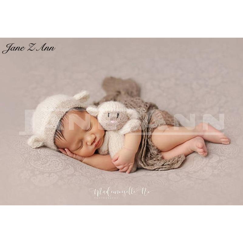 Jane Z Ann Neugeborenen Nette Tiere Häkeln Baby Kostüm Fotografie